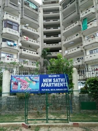 New Sathi Apartments, Sun City, Gurgaon - Building