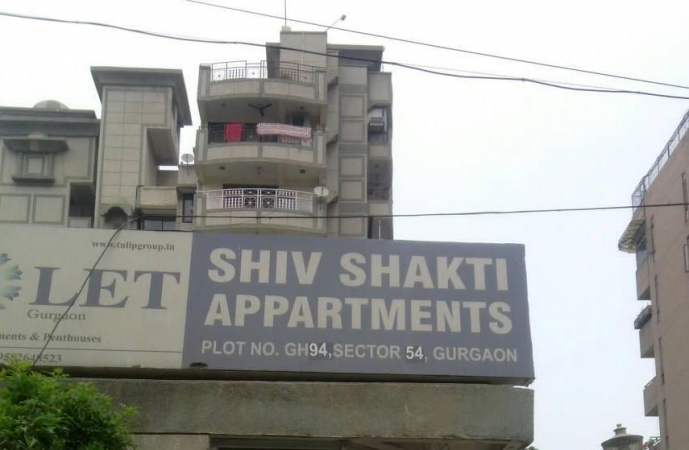 Shiv Shakti Apartments, Sector 54, Gurgaon - Building