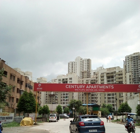 Century Apartments, Sector 100, Noida - Building