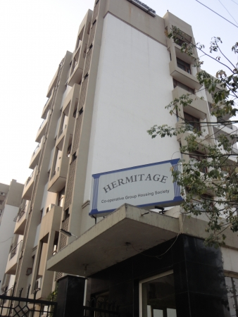 Hermitage Apartments, Sector 28, Gurgaon - Building