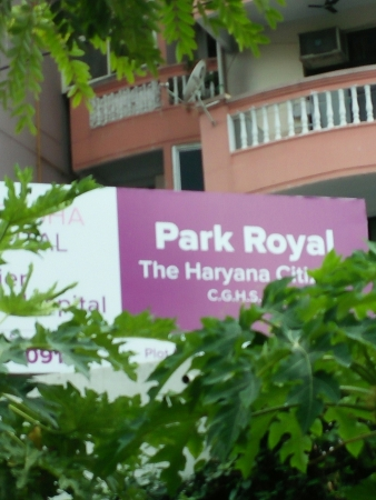 Park Royal Apartments, Sector 56, Gurgaon - Building