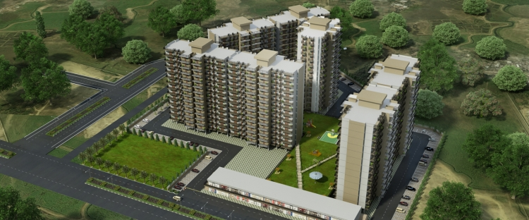 Adore Happy Homes Grand, Sector 85, Faridabad - Building