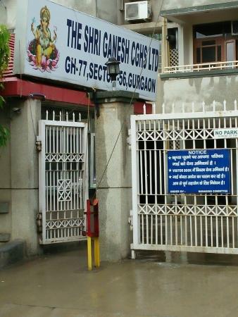 Shree Ganesh Apartment, Sector 56, Gurgaon - Building