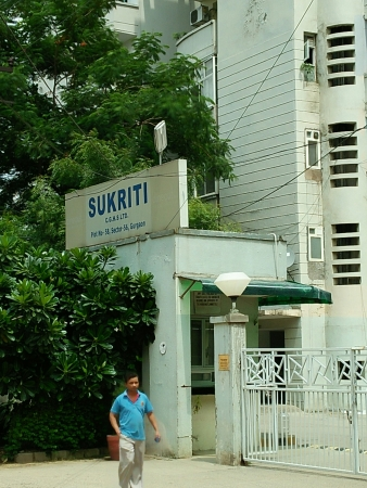 Sukriti Apartments, Sector 56, Gurgaon - Building