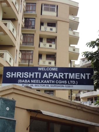 Shristi Apartments, Sector 56, Gurgaon - Building