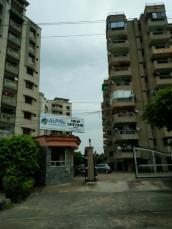 The New Shivani Apartments, Sector 56, Gurgaon - Building