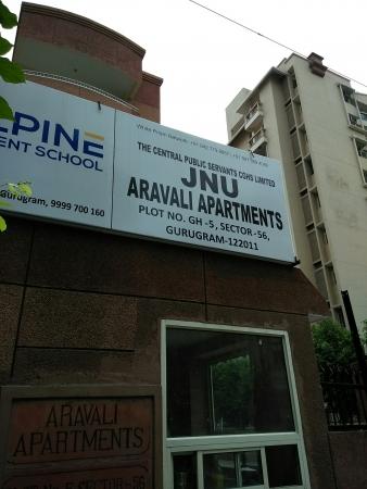 JNU Aravali Apartments, Vigyan Vihar, Gurgaon - Building