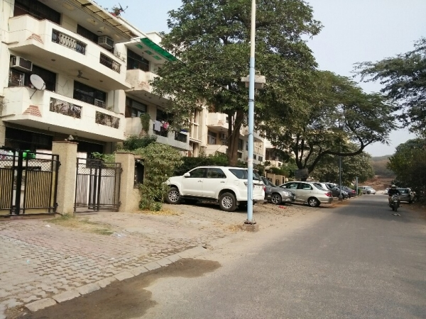 3 BHK Floor for Rent in Suncity Township - Exterior View