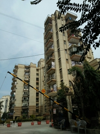 3 BHK Apartment for Rent in Sagavi Apartments - Exterior View