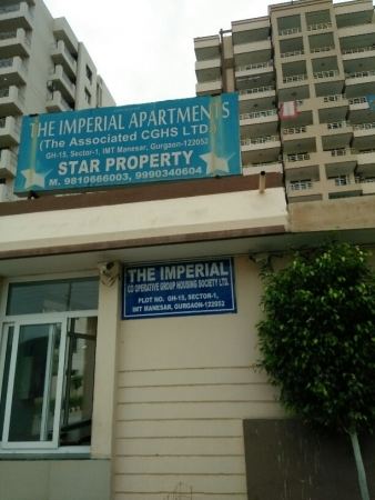 3 BHK Apartment for Sale in Star The Imperial Apartments - Exterior View