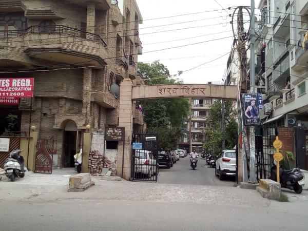 2 BHK Apartment for Rent in Karkardooma New Delhi - Exterior View