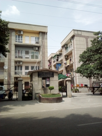 2 BHK Apartment for Rent in Srijan Apartment - Exterior View