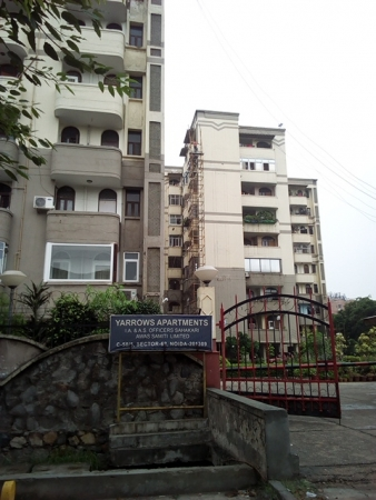2 BHK Apartment for Rent in Assotech Yarrow Apartments - Exterior View
