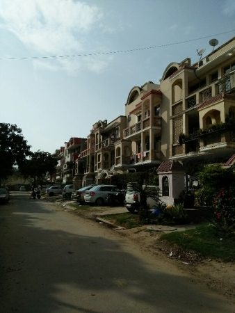 3 BHK Apartment for Rent in Mittals Tulip Garden - Exterior View