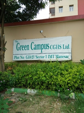3 BHK Apartment for Rent in Green Campus CHS - Exterior View