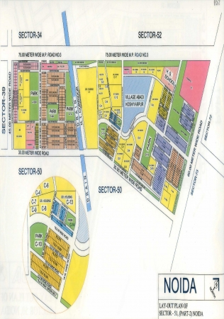 3 BHK Apartment for Sale in DPS Housing Society - Location Map