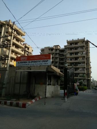 3 BHK Apartment for Sale in Alaknanda Apartment - Exterior View