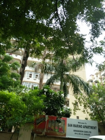 3 BHK Apartment for Rent in San Marino Apartments - Exterior View