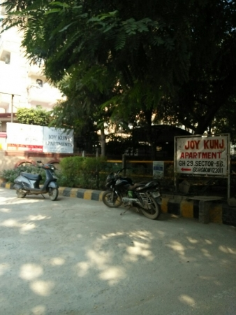 3 BHK Apartment for Rent in Joy Kunj Apartments - Exterior View