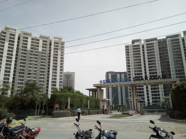 2 BHK Apartment for Rent in Great Value Sharnam - Exterior View