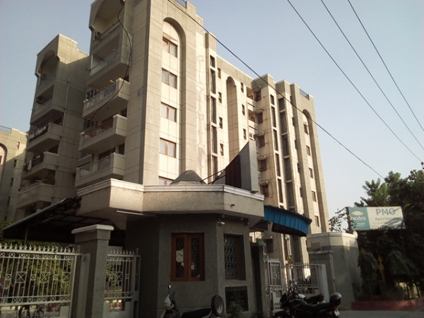 2 BHK Apartment for Sale in Purvanchal PMO Apartments - Exterior View