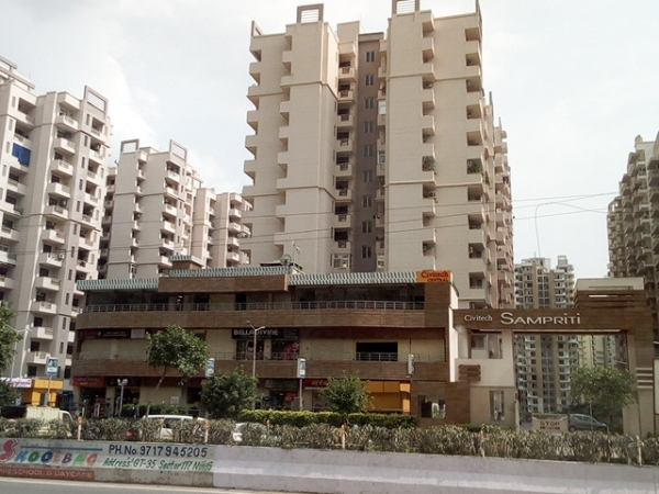 2 BHK Apartment for Rent in Civitech Sampriti - Exterior View