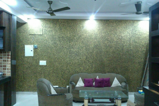 2 BHK Apartment for Sale in Piyush Heights - Living Room