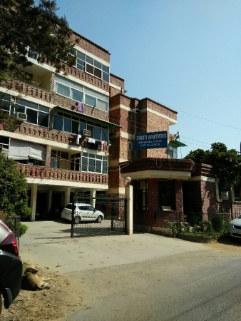 1 BHK Apartment for Sale in Smriti Apartments - Exterior View