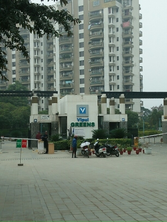 3 BHK Apartment for Rent in Vipul Greens - Exterior View