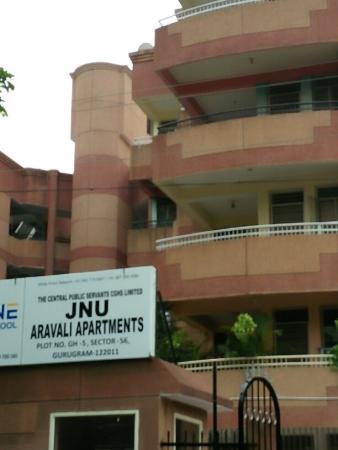 3 BHK Apartment for Rent in JNU Aravali Apartments - Exterior View