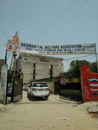 2 BHK Floor for Sale in Chattarpur Enclave Phase 1 New Delhi - Exterior View