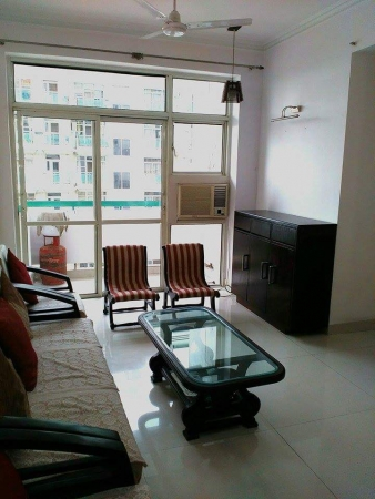 3 BHK Apartment for Rent in BPTP Freedom Park Life - Living Room