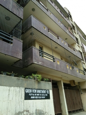 1 BHK Apartment for Rent in Green view Apartment - Exterior View