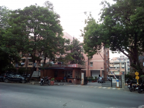 2 BHK Apartment for Rent in DDA Narwana Apartments - Exterior View