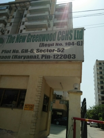 3 BHK Apartment for Rent in The New Greenwood - Exterior View