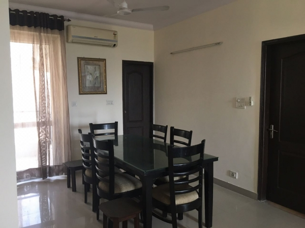 2 BHK Apartment for Rent in BPTP Freedom Park Life - Living Room