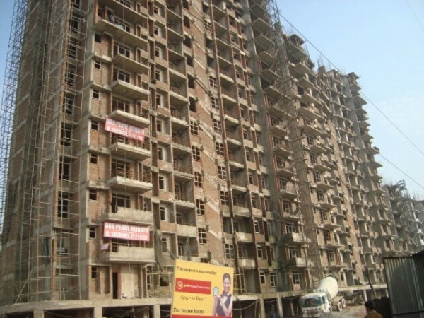 2 BHK Apartment for Sale in SRS Pearl Heights - Exterior View