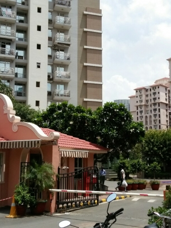2 BHK Apartment for Rent in DLF Princeton Estate - Exterior View