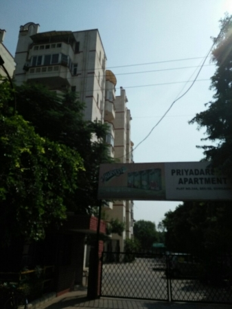 3 BHK Apartment for Rent in Priyadarshini CHS - Exterior View