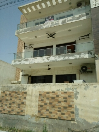 3 BHK Floor for Sale in Sector 52 Gurgaon - Exterior View