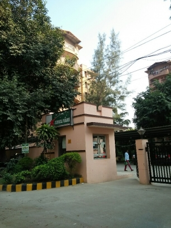 3 BHK Apartment for Rent in Technical Paradise Apartments - Exterior View