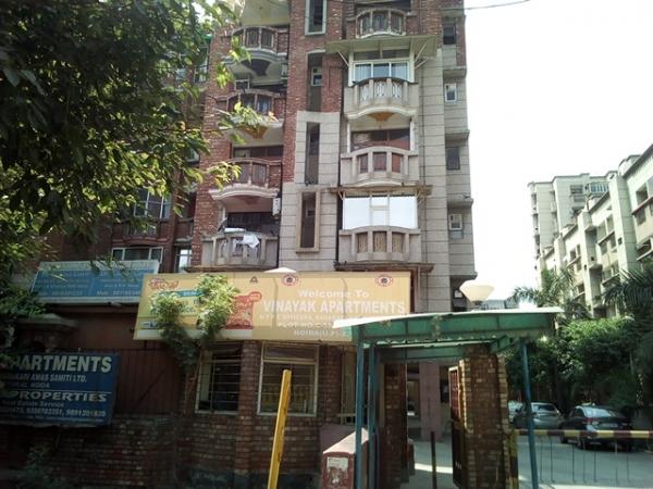 2 BHK Apartment for Rent in Vinayak Apartment - Exterior View