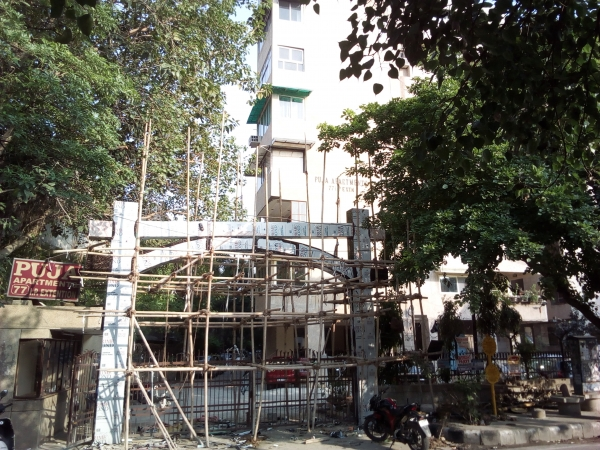 2 BHK Apartment for Rent in Puja Apartments - Exterior View