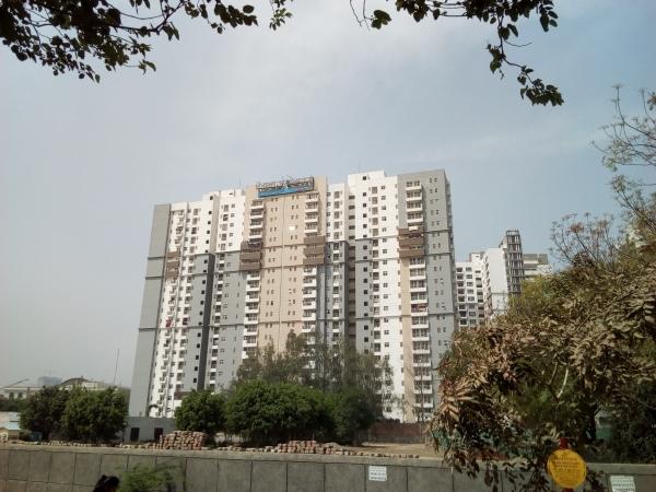2 BHK Apartment for Rent in 3C Lotus Boulevard Espacia - Exterior View