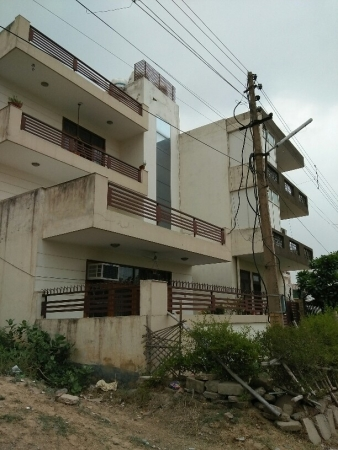 3 BHK Floor for Rent in Sector 43 Gurgaon - Exterior View