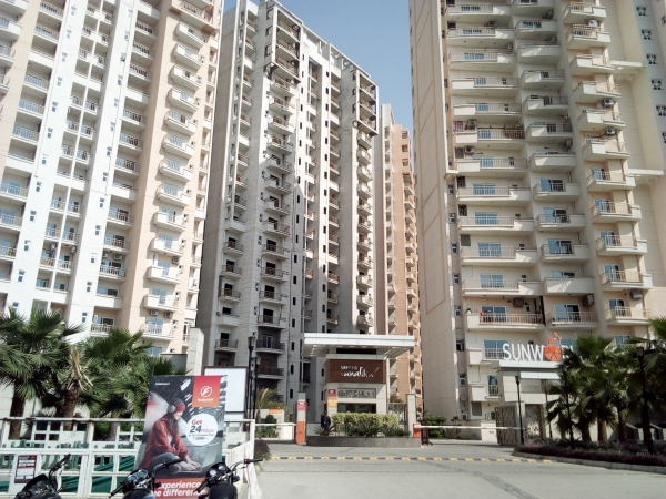 2 BHK Apartment for Sale in Sunworld Vanalika - Exterior View