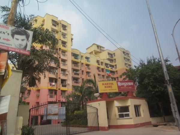 2 BHK Apartment for Sale in Shubhkamna Kartik Kunj Apartments - Exterior View