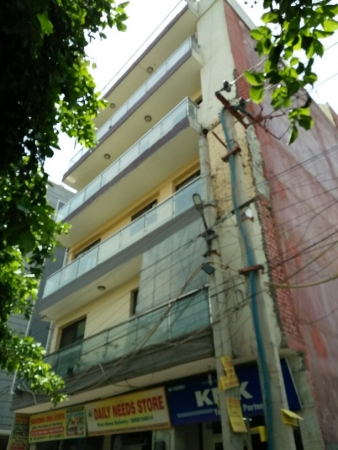 3 BHK Floor for Sale in Chattarpur Enclave Phase 2 New Delhi - Exterior View