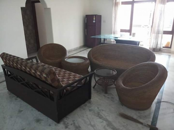 3 BHK Apartment for Rent in Sagavi Apartments - Living Room