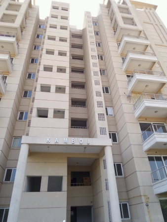 2 BHK Apartment for Rent in SLF Indraprastha Apartments - Exterior View